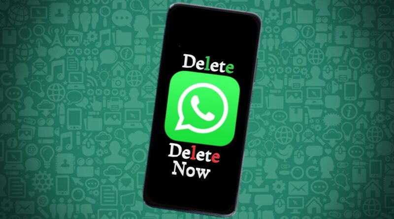 Delete WhatsApp Now
