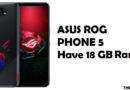 With 18 GB of RAM, ASUS ROG Phone 5 Could Outperform Your Laptop
