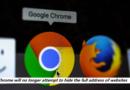 Google Chrome Address