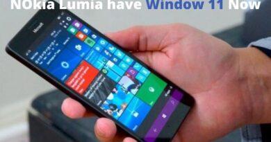 NOkia Lumia have Window 11 Now