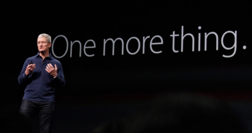 Tim Cook Introduced One Final Major Product Category