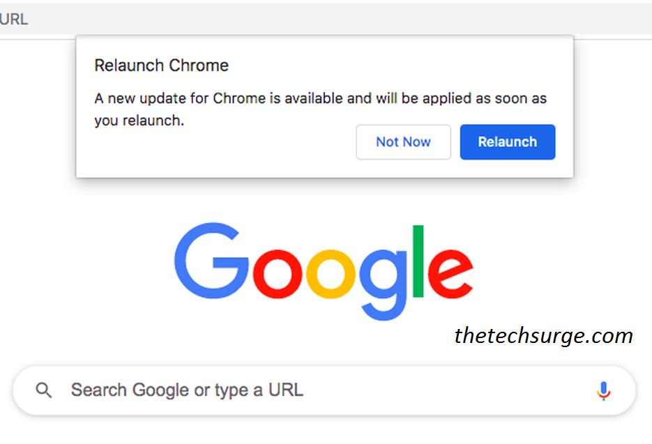 Google Chrome Display