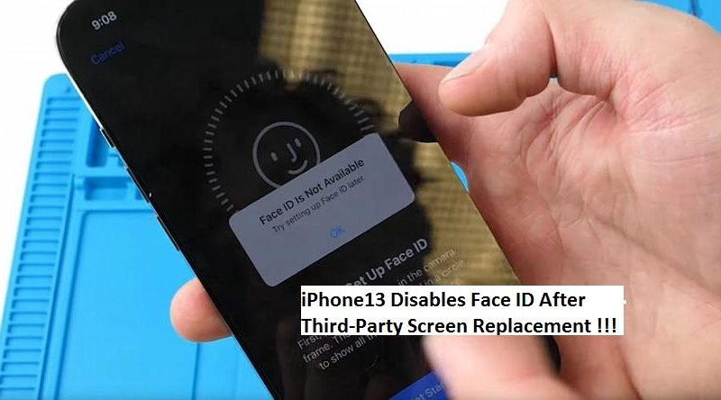 iPhone13 Disables Face ID