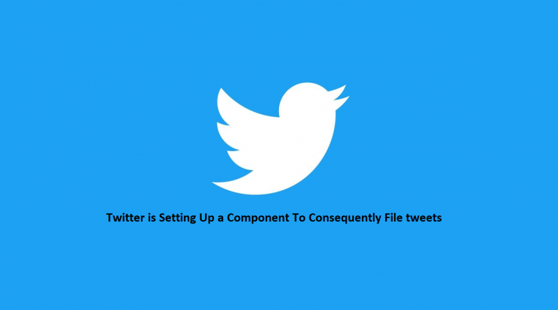 Twitter is Setting