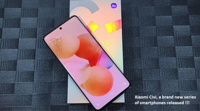 Xiaomi Civi new smartphone series