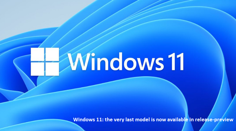 Windows 11 release preview