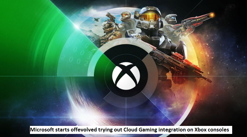 Cloud Gaming integration on Xbox consoles