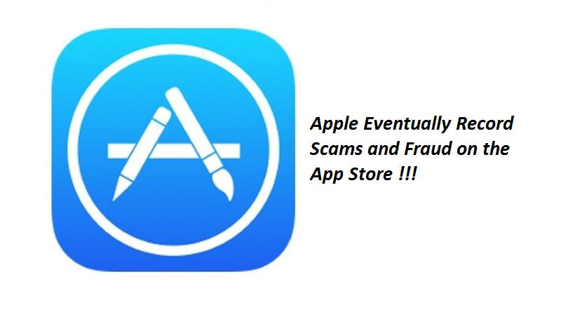 Apple eventually record scams