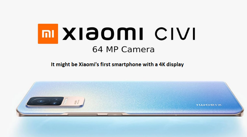 Smartphone with 4K display