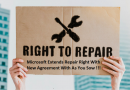 Microsoft Extends Repair Right