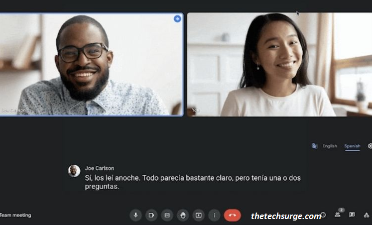 Testing Live With Translated Captions
